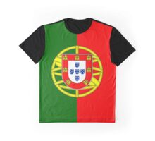 Portuguese Flag - Portugal Duvet Graphic T-Shirt