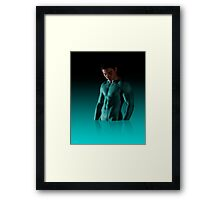 Dressing a Super Hero Framed Print