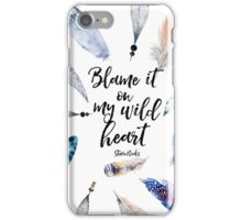 Wild Heart - Stevie Nicks iPhone Case/Skin