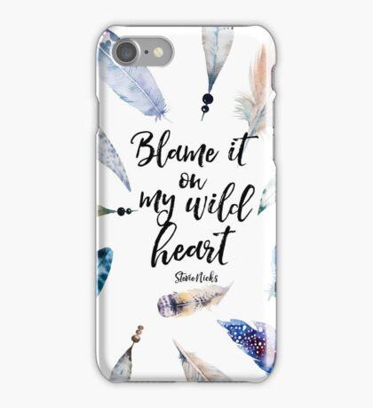 Wild Heart - Stevie Nicks iPhone Case/Skin