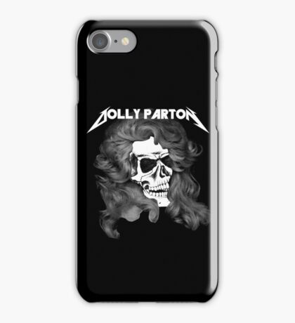 Dolly Parton Metal iPhone Case/Skin