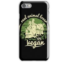 Vegan - Real Vegan iPhone Case/Skin