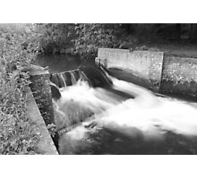 Waterfall @ Batford Springs, Harpenden Photographic Print