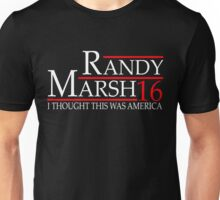 RANDY MARSH 16 I THOUGH THIS WAS AMERICA Unisex T-Shirt