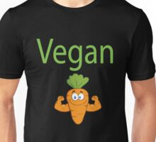 Vegan - Vegan Strong Carrot Unisex T-Shirt