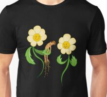 Vegan - Flower Luv Unisex T-Shirt