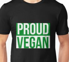 Vegan - Proud Vegan Unisex T-Shirt