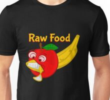 Vegan - Raw Foods Food Fight Unisex T-Shirt