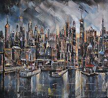 Gotham City by Stefano Popovski