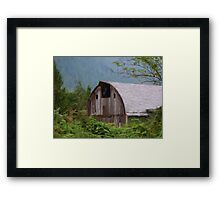 Middle Of Nowhere - Country Art Framed Print