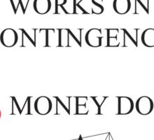 The Simpsons - Lionel Hutz - Money Down Sticker