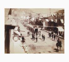 Deadwood people celebrating - John Grabill - 1888 Kids Tee