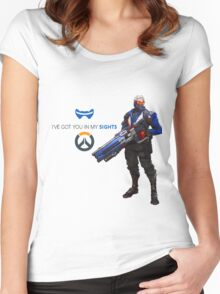 OVERWATCH 76 Women's Fitted Scoop T-Shirt