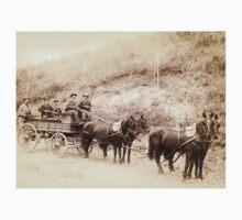 Deadwood Treasure Wagon and Guards - John Grabill - 1890 Baby Tee