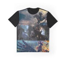 The Witcher Art Graphic T-Shirt