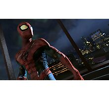Spiderman Edge Of Time Photographic Print