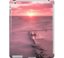 Bude, Cornwall, UK, Tidal Pool Sunset ~ Atlantic Coast iPad Case/Skin