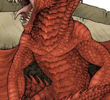 I am the Dragon - Red Sticker