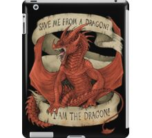I am the Dragon - Red iPad Case/Skin