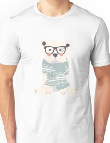 Polar bear, pattern 001 Unisex T-Shirt