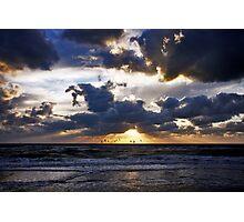 Dramatic sunset Photographic Print