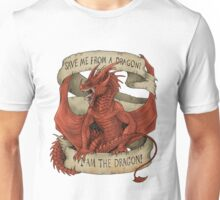I am the Dragon - Red Unisex T-Shirt