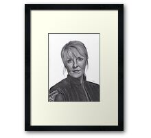 Sam Carter in Atlantis Framed Print