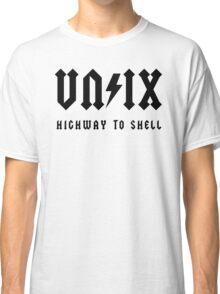 Unix - Highway to Shell Classic T-Shirt