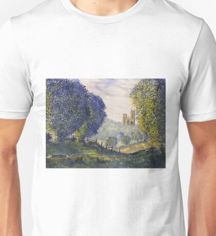 Bridlington Priory from Woldgate Unisex T-Shirt
