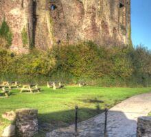 Laugharne Castle Sticker