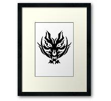 God Eater 2 Rage Burst Logo Framed Print