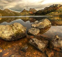 Cradle Mountain and  Dove Lake by Kevin McGennan