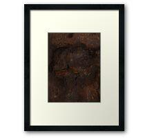 DISINTEGRATING (Damaged) Framed Print