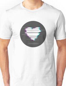 GLITCH HEART  Unisex T-Shirt