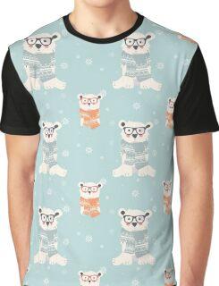 Polar bear, pattern 006 Graphic T-Shirt