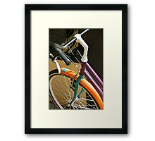 Vacation Time - Hossegor, France Framed Print