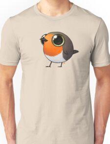 Cute Fat Robin Unisex T-Shirt
