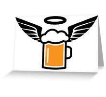 ANGEL BEER 2 Greeting Card