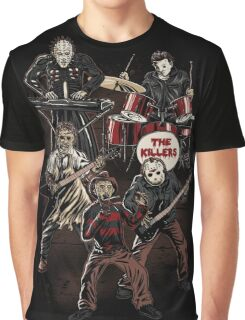 Death Metal Killer Music Horror Graphic T-Shirt