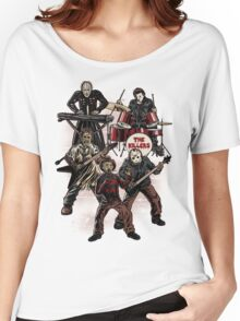 Death Metal Killer Music Horror Women's Relaxed Fit T-Shirt