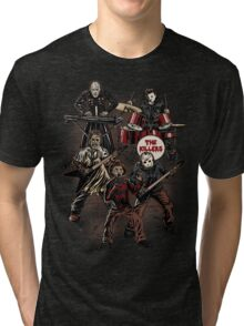Death Metal Killer Music Horror Tri-blend T-Shirt