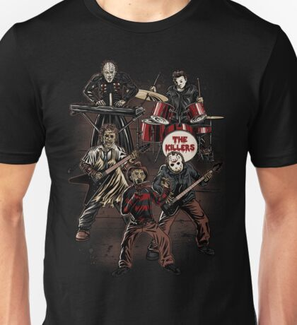 Death Metal Killer Music Horror Unisex T-Shirt