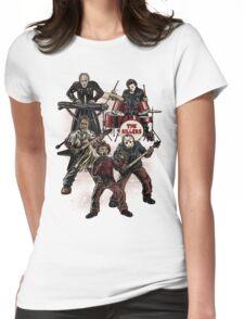Death Metal Killer Music Horror Womens Fitted T-Shirt