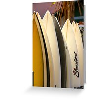 Vacation Time II - Hossegor, France. Greeting Card