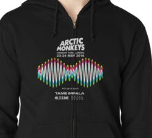 Arctic Monkeys Tour 2014 Zipped Hoodie