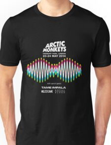 Arctic Monkeys Tour 2014 Unisex T-Shirt
