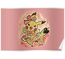 Cute Pikachu Dress Tshirts + More! Poster