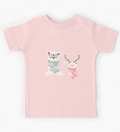 Christmas animal pattern, 003 Kids Tee