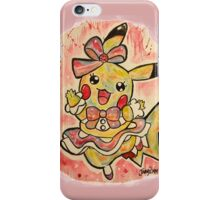 Cute Pikachu Dress Tshirts + More! iPhone Case/Skin