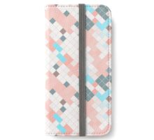 Abstract square color background for design iPhone Wallet/Case/Skin